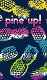 DHestia. Toalla de Playa Grande de Algodón 100x170 cm. Piñas Pine Up