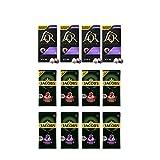 L'OR & Jacobs Paquete Variedad Mixta - Colección Lungo - Nespresso®* Cápsulas de café de aluminio compatibles - 12 paquetes de 10 cápsulas (120 bebidas)