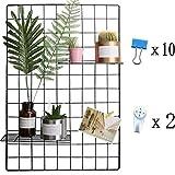 WJSX Eisen Gitter der Foto Wand einfache Dekoration Plaid kreative Memo an der Wand Hängen in der...