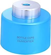CTKcom Mini Portable Bottle Cap Air Humidifier with USB Cable for Office Travel Home Room Bedroom Desk Car Vehicle,Blue