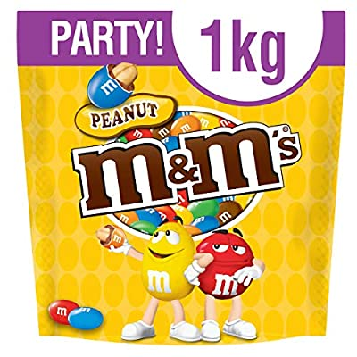 m&m's peanut chocolate party bag 1 kg M&M's Peanut Chocolate Party Bulk Bag, 1kg 51b0 ws5fOL