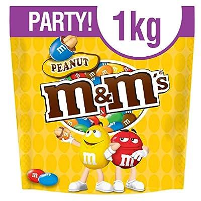 m&m's peanut chocolate party bag 1 kg M&M's Peanut Chocolate Party Bulk Bag, 1kg 51b0 ws5fOL