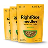 RightRice Medley - Fried Rice (6oz. Pack of 3) - Made from Vegetables – Ancient Grains and More Veggies, Vegan, non GMO, Gluten Free
