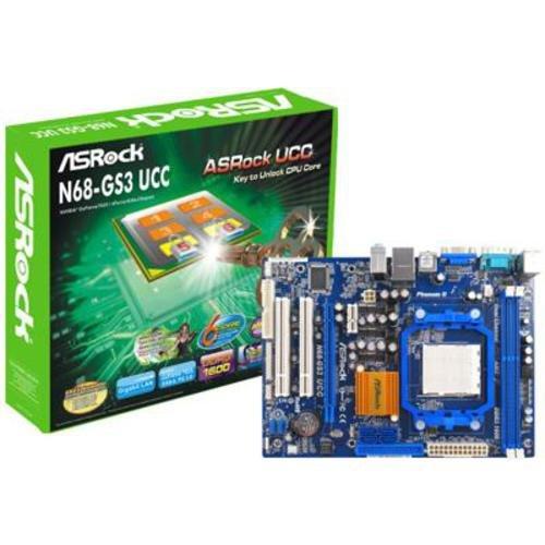 asrock n68 gs3 ucc mainboard