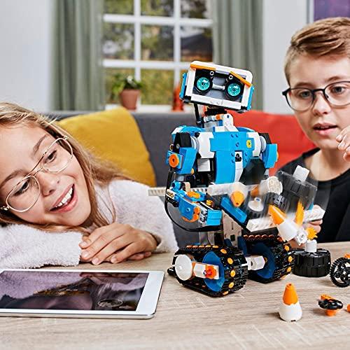 LEGO 17101 Boost Programmierbares Roboticset, 5-in-1 App-gesteuertes Baumodell mit einem programmierbaren, interkativen Roboter-Spielzeug und Bluetooth Hub, Programmierset für Kinder - 6