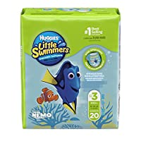 Huggies Little Swimmers Disposable Swim Pants, Size Small, 20 Count (Pack of 4) by Huggies
