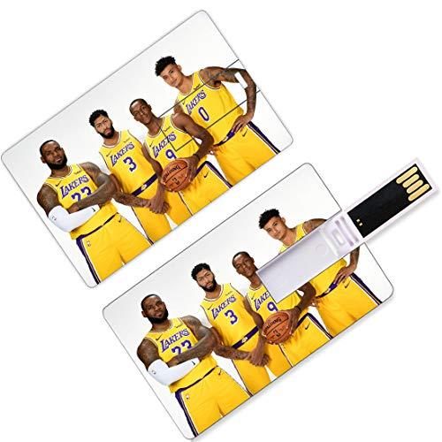 USB Flash Thumb Drives Giocatore di pallacanestro nazionale Forma di carta di credito Playoff dell'Associazione Finali Allstar Super Star Associazione nazionale di pallacanestro Formazione di partenza