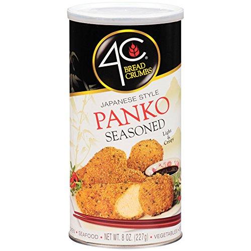 4C Japanese Style Panko Seasoned Bread Crumbs, 8 oz