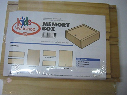 Kids workshop memory box