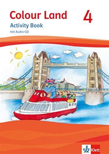 Colour Land 4: Activity Book mit Audio-CD Klasse 4 (Colour Land. Ab Klasse 3. Ausgabe für Brandenburg, Mecklenburg-Vorpommern und Sachsen ab 2013)