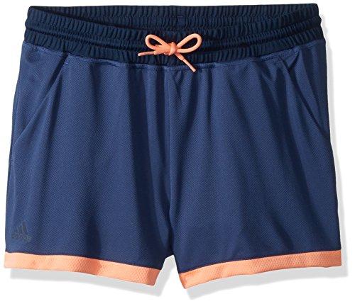 adidas Pantalón Corto de Tenis para niñas, Niñas, S1807W555G, Azul Marino, S