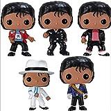 A-Generic Pop Michael Jackson Figura de Vinilo Coleccionable Modelo de acción Exclusivo Ornamento Multicolor