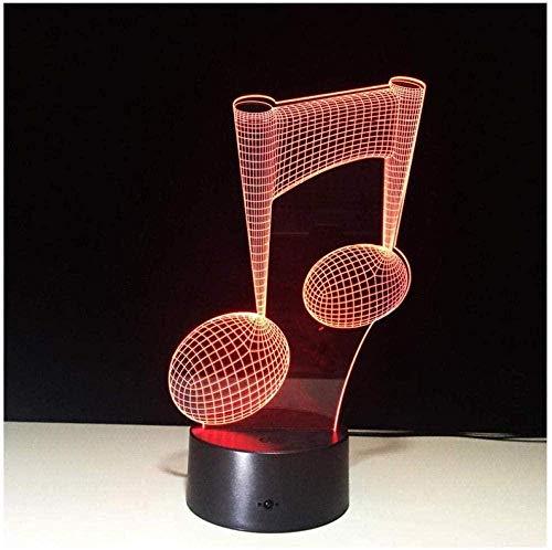 YOUPING Luz nocturna con patrón 3D, lámpara de luz nocturna, banco de energía LED, luz nocturna USB, lámpara LED, luz nocturna con batería, regalo
