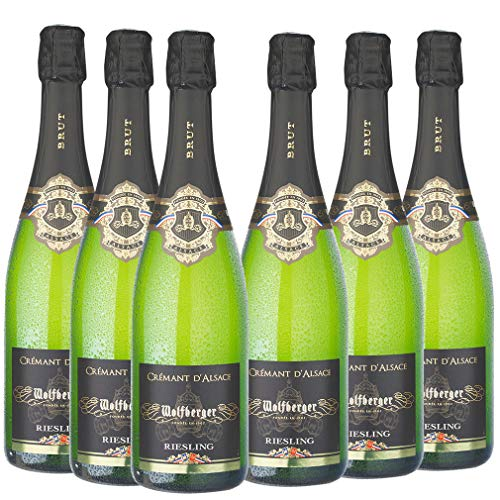 Cremant d'Alsace - Wolfberger Riesling - Brut (6x0,75l)