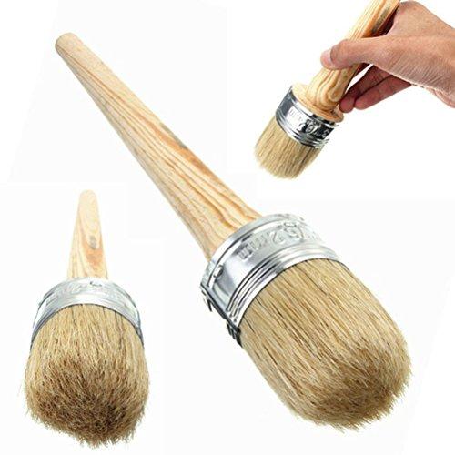 Wachs Pinsel Rundpinsel für Kreidefarbe & Möbelwachs Home Decor