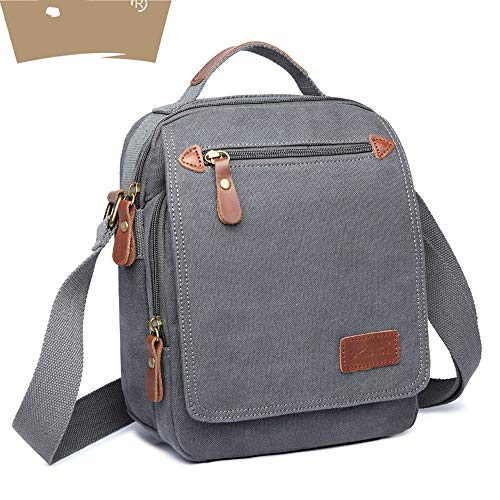 zxcv Men's Bag, Men's Handbag, Shoulder Bag, Messenger Bag, Canvas IPAD Special Bag