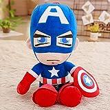 FCS Peluche Suave Peluche Superhéroe Capitán América Iron Man Spiderman Peluches The Movie Dolls par...