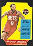 2011-12 Panini Past and Present Bread For Energy Die Cut #49 Deron Williams Nets