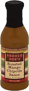 Bronco Bob's Roasted Mango Chipotle Sauce 15.5oz (Pack of 2)
