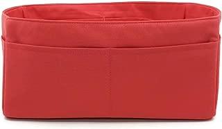 Small Purse Organizer insert for Hermes Birkin 25, Lindy 26 Handbag Fabric lightweight Soft Sturdy Bag Organize Pockets