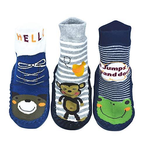 BOMPOW Baby Slipper Socks Toddle...