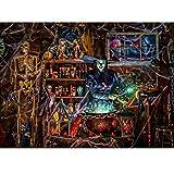 shiruip 1000 Piece Halloween Jigsaw Puzzle,Large Adult Childrens Educational Pattern Toy (ArtKari-29)