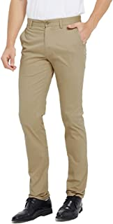 Men's Slim-Fit Stretch Wrinkle-Resistant Flat-Front Dress Chino Pant