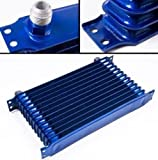 13 Rows Aluum Universal Engine Transmission Oil Cooler Racing Sport Rally
