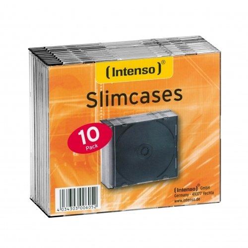 Intenso Slim Case Leerhüllen (10) 9001602 transparent
