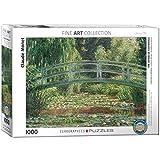 EuroGraphics 'Claude Monet La Pasarela Japonesa Puzzle (1000 Piezas, Multi-Color)