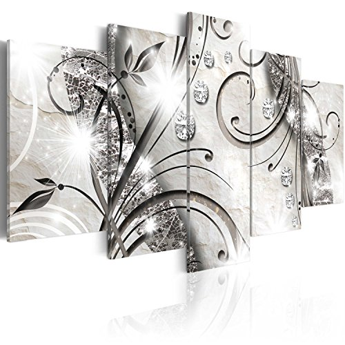 murando Quadro 200x100 cm 5 Pezzi Stampa su Tela in TNT XXL Immagini Moderni Murale Fotografia Grafica Decorazione da Parete Astratto Quadro a-A-0051-b-m