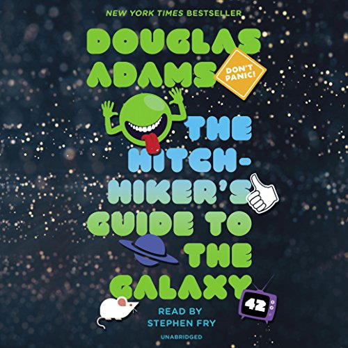Page de couverture de The Hitchhiker's Guide to the Galaxy