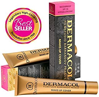 Dermacol Make-up Cover - Waterproof Hypoallergenic Foundation 30g 100% Original Guaranteed from Authorized Stockists (224)