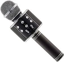 Axxitude Handheld Wireless Mike | Multi-function Bluetooth Karaoke Singing Mic with Microphone Speaker