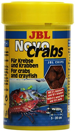 JBL NovoCrabs 30273 Alleinfutter für Krebse, Tabletten 100 ml