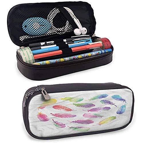 Transparent Pen Bags Pencil Case Federmäppchen  Stationery Writing Case gut