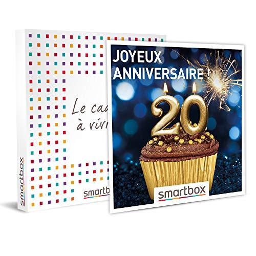 Le coffret Smartbox anniversaire 20 ans