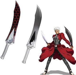 Yongli Sword Fate Grand Order Fate Stay Night Archer Emiya Cosplay Anime Game Carbon Steel Sword