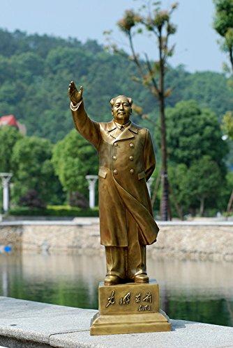 YUNHAO Grande Chine Mao Zedong Chairman Mao Statue Bureau Décoration