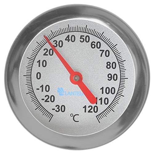 Lantele Einstich Thermometer 120 Grad 30cm Sonde für Fleisch Fisch Geflügel Wild beim Grillen Räuchern Braten Backen 8214