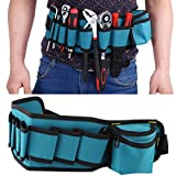 Multi-functional Tools Holder Easy-Get Repair Maintenance Waist Bag with Adjustable Belt for Electricians Technicians Car Repairman