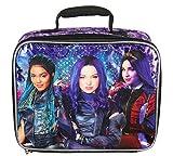 Disney Descendants Evie Mal Uma Character Insulated Lunch Box Tote Bag