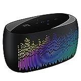 Foto Monstercube Cascata di luci. Cassa Altoparlante Speaker Bluetooth 4.0 portatile, funzione NFC e ampia gamma di luci LED, 2 altoparlanti acustisci da 3W ciascuno, microfono integrato, ingresso AUX, supporto per scheda di memoria TF, cassa altoparlante speaker per smartphone