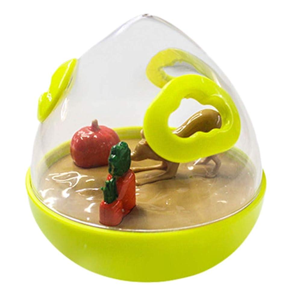Tumbler Leak,FTXJ Treat Dispenser Tumbler Dog Food Feeder Pet Slow Eating Bowl Foraging Toy