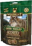 4 x 225g Wolfsblut Cracker Green Valley mit Lamm und Fisch