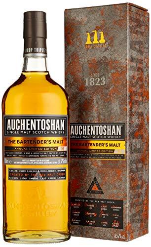 Auchentoshan The Bartender's Malt mit Geschenkverpackung Single Malt Whisky (1 x 0.7 l)