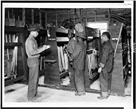 Photo: African American Civilian Conservation Corps enrollees Working,Supplies,KY,1937
