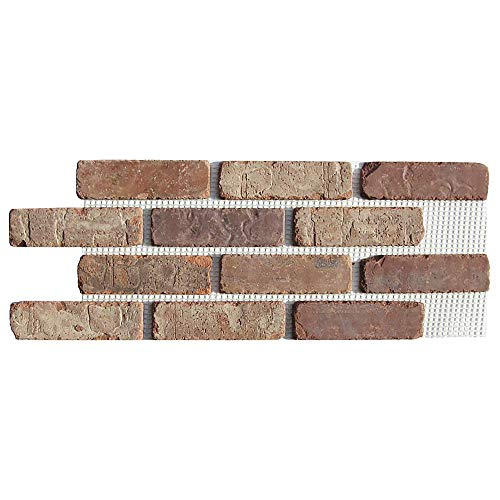 Brickwebb Thin Brick Sheets - Flats (Box of 5 Sheets) - Castle Gate