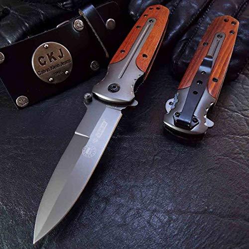 KANDAR DA-59 • Pocket Folding Outdoor Camping Edc Knife • Overall Lenght: 8.07in • PTM-uk.
