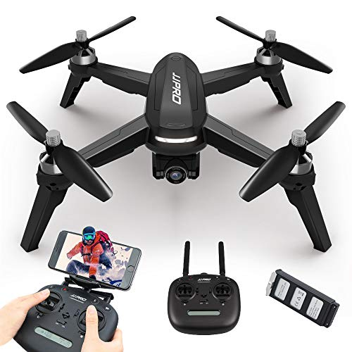 JJR C JJPRO X5 EPIK 1080P 5G WiFi FPV Fotocamera GPS Posizionamento Follow Me Altitude Hold RC Drone Quadcopter (Nero)
